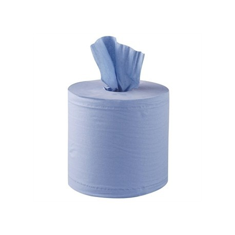 Jantex Centrefeed Blue Roll 2ply 125m 6 Pack