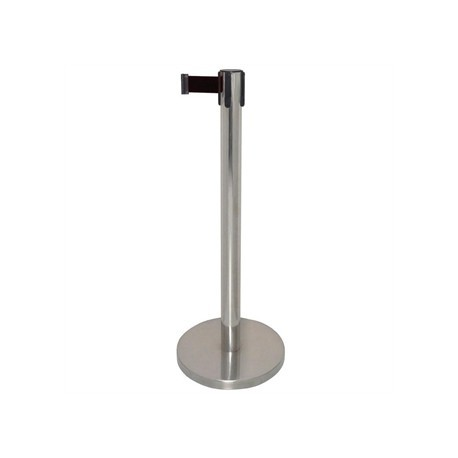 Bolero Polished Black Strap Barrier
