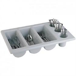 APS Stackable Plastic Cutlery Dispenser