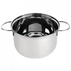 Olympia Mussel Pot Stainless Steel Medium