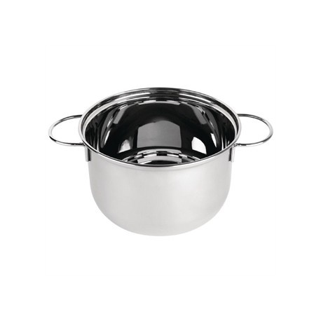 Olympia Mussel Pot Stainless Steel Small