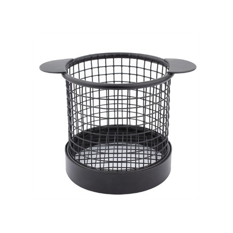 Olympia Mini Fryer Basket Black with Ears