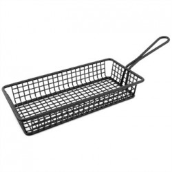 Olympia Mini Rectangle Presentation Basket Black