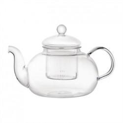 Long Island Glass Teapot 1Ltr (Box 6)