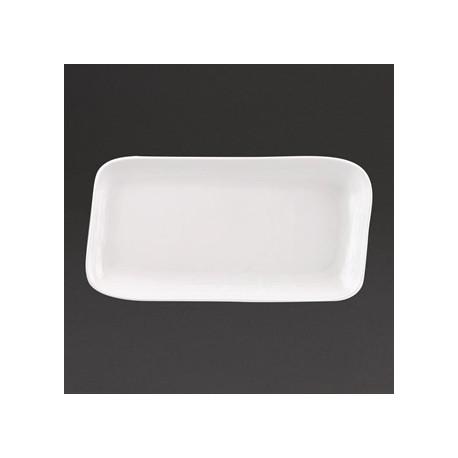 Churchill Discover Rectangular Plates White 285 x 134mm