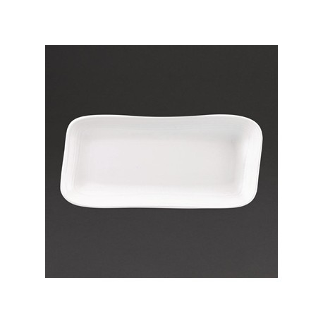 Churchill Discover Rectangular Plates White 337 x 175mm