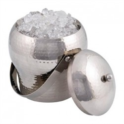 Beaumont Signature Taille Ice Bucket Hammered Finish Small