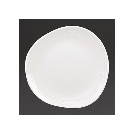 Churchill Discover Round Plates White 186mm