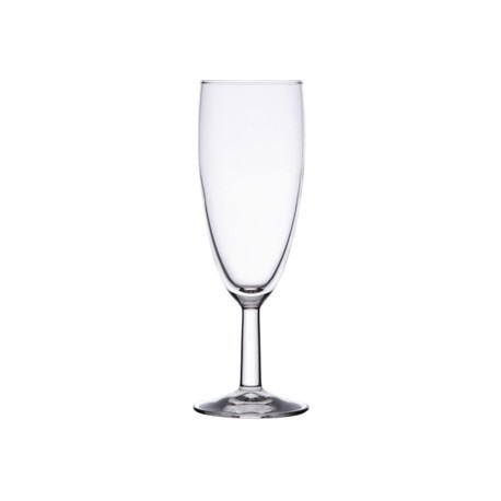 Olympia Boule Champagne Flutes 140ml