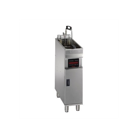 Valentine Evo 200P Freestanding Single Basket Fryer with Filtration