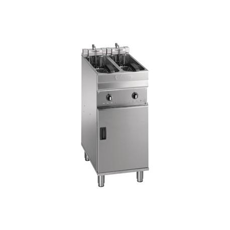 Valentine Evo 220P Freestanding Single Basket Fryer with Filtration