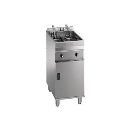 Valentine Evo 400P Freestanding Twin Basket Fryer with Filtration