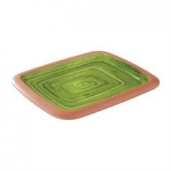 APS La Vida Melamine Tray Green GN 1/2 325 x 265mm