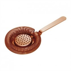 Beaumont Mezclar Heavy Duty Hawthorne Strainer Copper