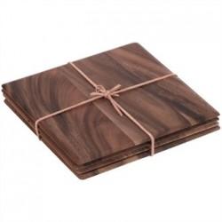 Square Acacia Table Mat