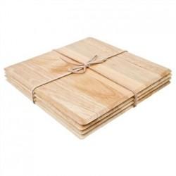Square Hevea Table Mat