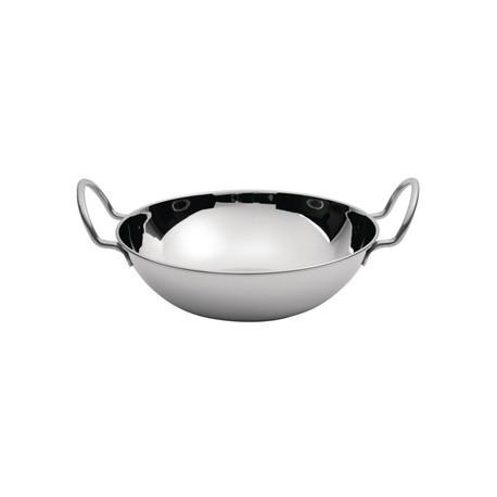 Flat Bottomed Small Balti Serving Dish