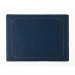 PVC Blue Place Mat