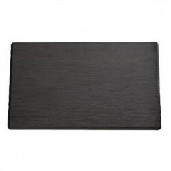 APS 1/2GN Slate Melamine Platter