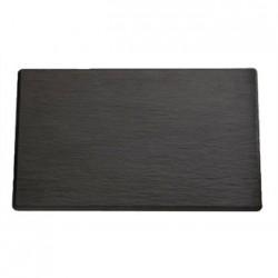 APS 1/4GN Slate Melamine Platter