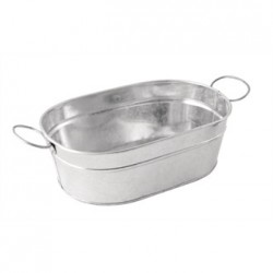 Olympia Mini Metal Food Bucket Rectangle