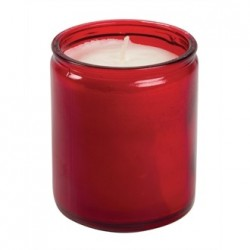 Starlight Jar Candle Red
