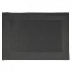 APS PVC Placemat Fine Band Frame Black