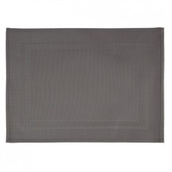 APS PVC Placemat Fine Band Frame Grey