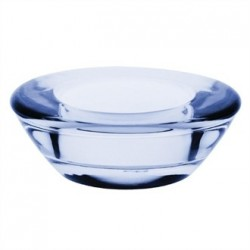 Olympia Saucer Tealight Holder Blue - 75 x 75mm