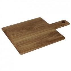 Olympia Oak Handled Wooden Board Small