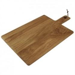 Olympia Oak Handled Wooden Board Large