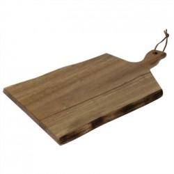 Olympia Acacia Wavy Handled wooden Board Small