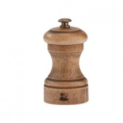 Peugeot Antique Wood Pepper Mill 4in