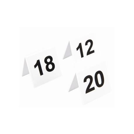 Plastic Table Numbers 11-20