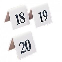 Plastic Table Numbers 31-40
