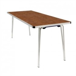 Gopak Contour Folding Table Teak 6ft