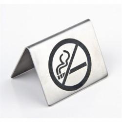 No Smoking Table Sign