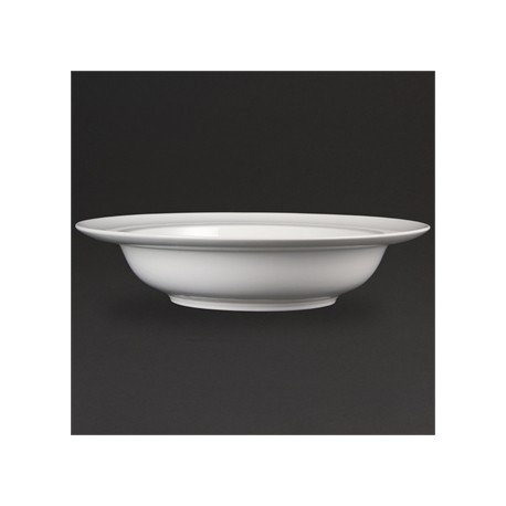 Olympia Whiteware Wide Rim Bowls 384mm
