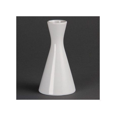 Olympia Whiteware Bud Vases 140mm