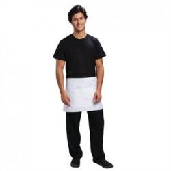 Uniform Works Short Bistro Apron White
