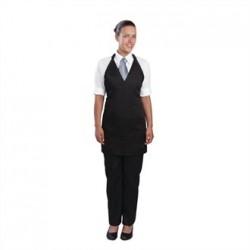 Uniform Works Tuxedo Apron Black