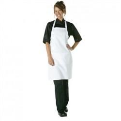 Chef Works Bib Apron White
