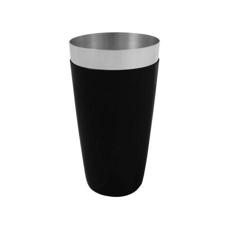 Olympia Boston Shaker Tin PVC Grip Black