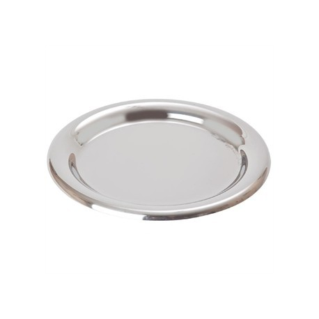 Beaumont Tip Tray Stainless Steel Round