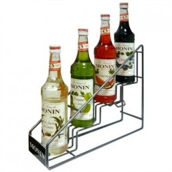 Monin Syrup POS 4 Bottle Rack