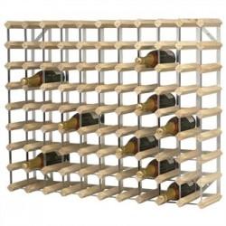 Wine Rack Wooden 90 Bottle