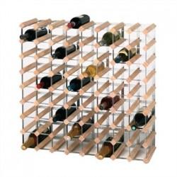 Wine Rack Wooden 72 Bottle