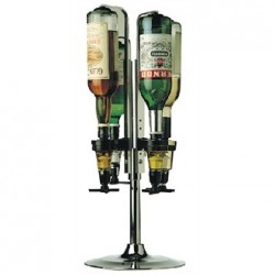 Beaumont Rotary Optic Stand 4 Bottle