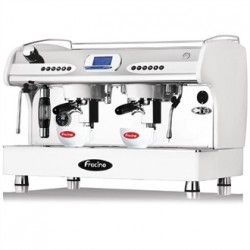 Fracino PID Espresso Coffee Machine 2 Group White PID2