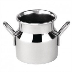 Mini Milk Churn Stainless Steel Small